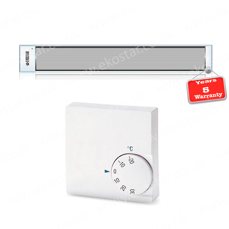 Energy efficient Heating Systems E1300 + Thermostat
